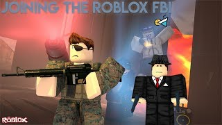 Joining The Roblox FBI