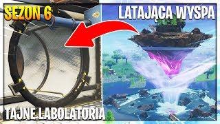 *LATAJĄCA WYSPA* I TAJNE LABOLATORIA! | Fortnite - Battle Royale