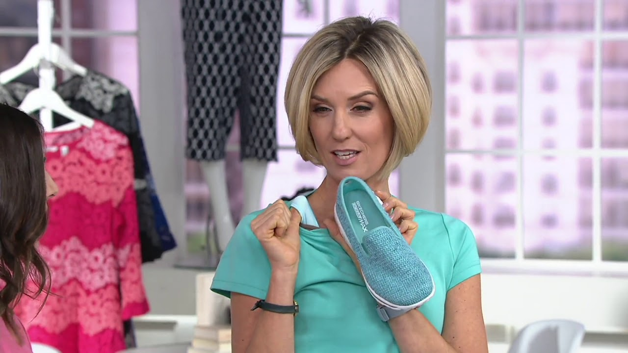 Skechers GOwalk Slip-On Mesh Shoes