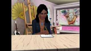 La Vida De Kimera, Novela Sims 3