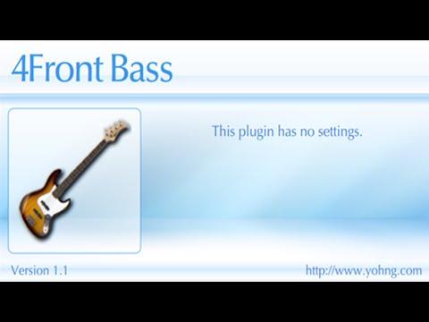 Free VSTI - 4Front (sampled Bass)
