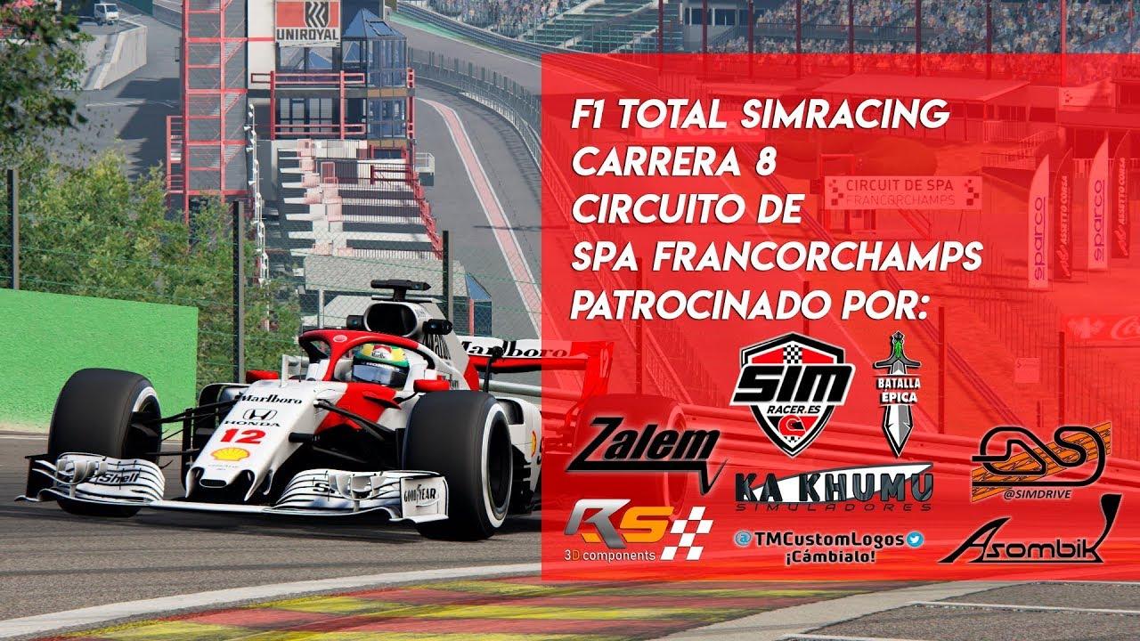 Circuito De Spa Francorchamps : 🏆 f1 total simracing 🏆 carrera 8 circuito de spa francorchamps
