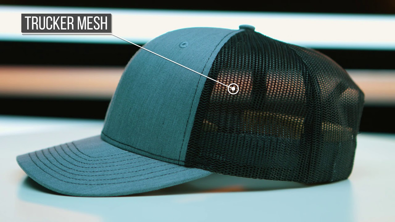 c61a6c22 Richardson 112 Twill Mesh Back Trucker Snapback Cap - The Hat Pros