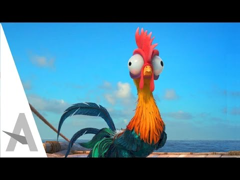 Heihei Chicken FUNNY SCENES - Moana I Disney Animated Movie (HD)