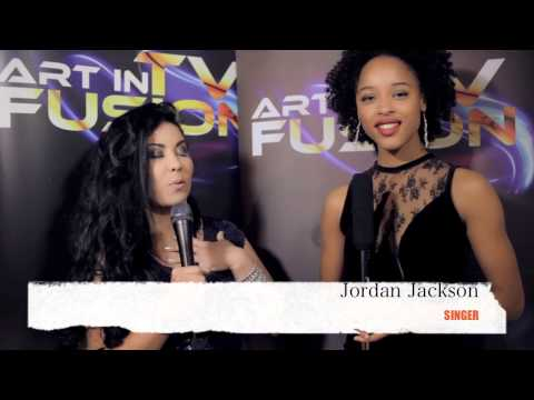 ART IN FUSION TV - Rebeca Riofrio - interview Jordan Jackson SINGER
