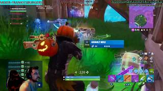 embrayage équipe solo! campeur pro! HALLOWEEN SKIN - fortnite