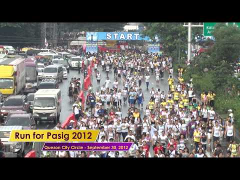 Boardwalk on Run for the Pasig River 2012