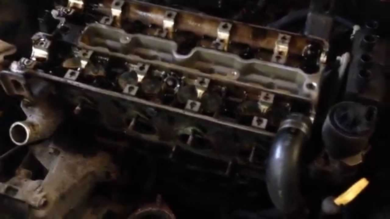 chev optra head gasket - youtube