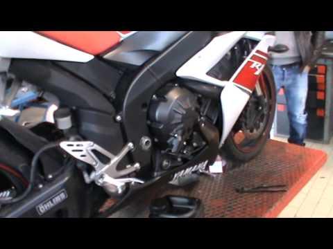 NEBROK OIL M1 RACING- TEST YAMAHA R1 +POWER (+ 5 CV)