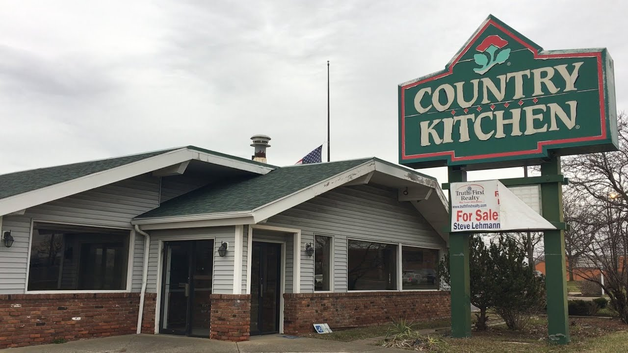 Abandoned Country Kitchen Restaurant Stuck In The 90 S
