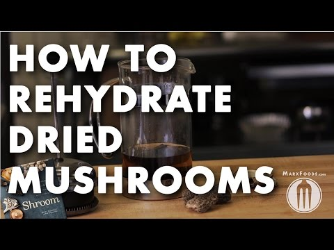 Rehydrate Dried Vegetables with a French Press