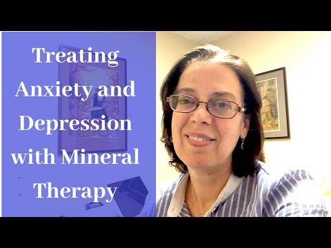 Treating Anxiety And Depression With Mineral Therapy