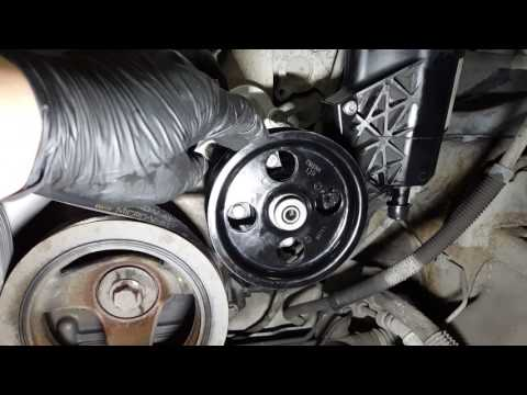 2002-2008 Dodge Ram 1500 5 7L: Replacing the power steering pump