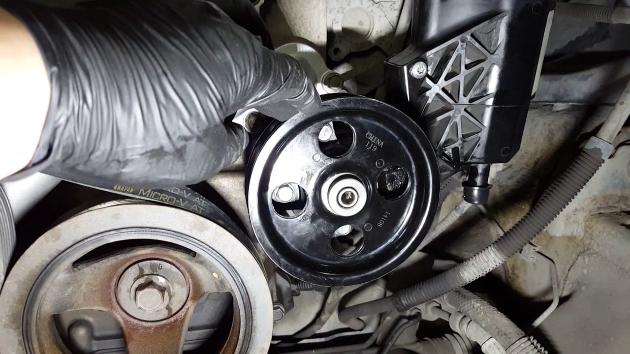 2002   2008    Dodge       Ram       1500    57L  Replacing the power steering pump  YouTube