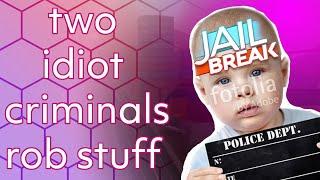 two idiot criminals rob stuff | Roblox Jailbreak