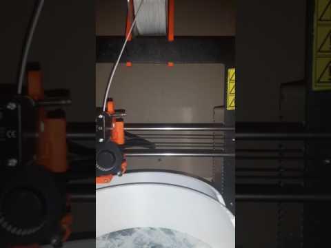 Prusa i3 mk2 printing large abs dome