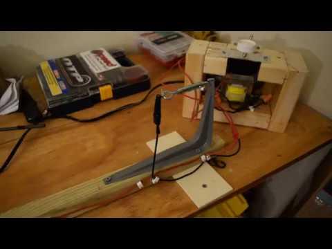 how to make a homemade hot wire foam cutter
