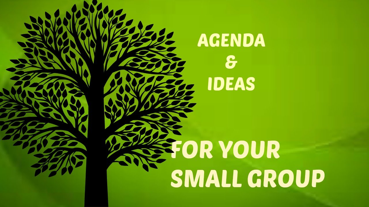 agenda and ideas, how to lead a small group for women's ministry