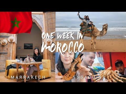 One week in Morocco - Marrakech & Essaouira   MOROCCO FOOD & TRAVEL VLOG
