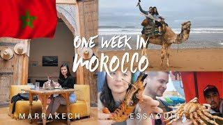 One week in Morocco - Marrakech & Essaouira - MOROCCO FOOD & TRAVEL VLOG