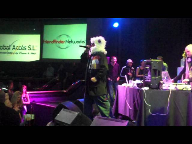 Black Rock City Allstars & YT Cracker at Affiliate Ball 2012