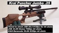 kral Puncher Jumbo  25 - This Gun is Amazing! Initial Tune