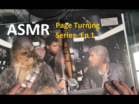 Pause ASMR: Page Turning Series-  Ep 1 - Star Wars Cross Section Book