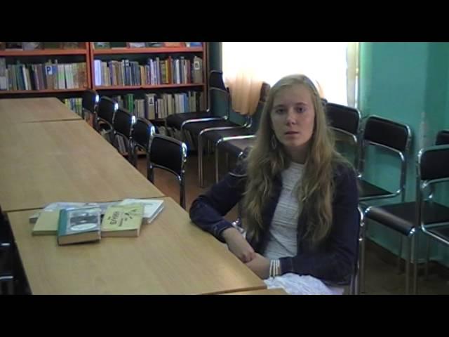 Морозова Юлия читает произведение «Вечер» (Бунин Иван Алексеевич)