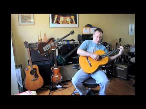 Vintage Conde Hermanos Student Flamenco Guitar Demo/Review/Sunday Fun Video
