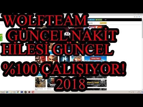 wolfteam yeni nakit hilesi 100 çalişiyor güncel 2018 video kanitli