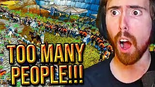 ASMONGOLD DESTROYS THE SERVER The Biggest World PVP Event EVER Classic WoW