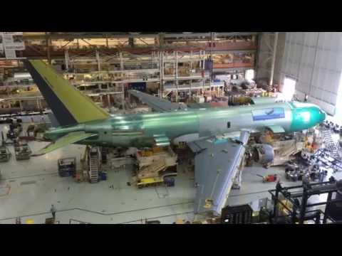 Exclusive Sneak Peak of the Boeing KC-46 at the Everett Factory