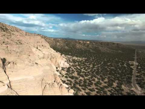 A tour of Santa Fe, New Mexico by aerial drone