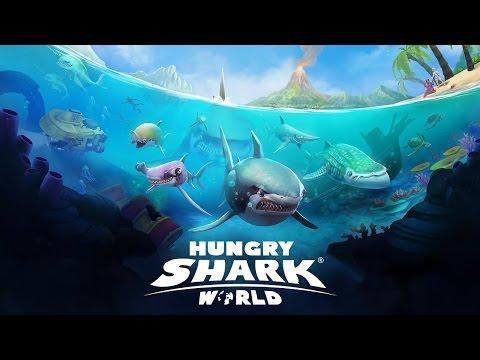 EL TIBURÓN QUE COME HUMANOS!!!!!! // HUNGRY SHARK WORLD #1 - Hungry Shark Español HD