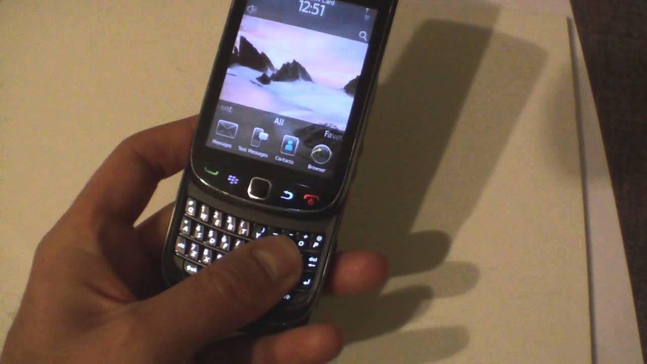 blackberry 9800 keypad wont work