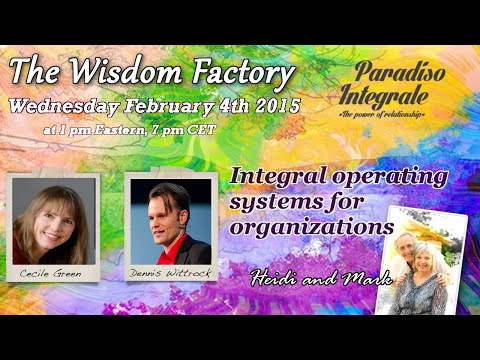 Integral Operating Systems for Organizations: Dennis Wittrock, Cecile Green, H. Hornlein and Mark