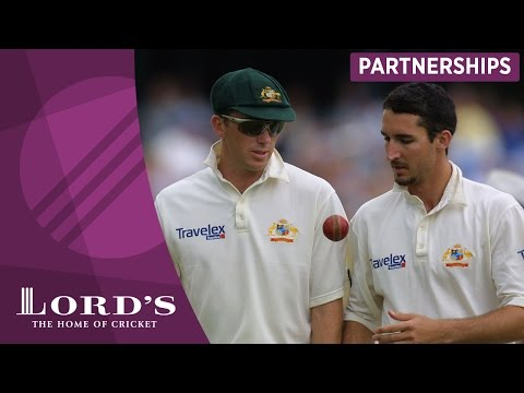 Glenn McGrath & Jason Gillespie - 'One of Australia's great opening bowling combinations'