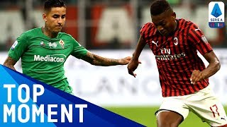Leao scores brilliant consolation goal for Milan! | Milan 1-3 Fiorentina | Top Moment | Serie A