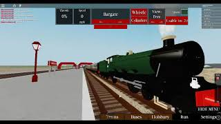 IM DRIVING A FIRST CLASS STEAM TRAIN (Roblox) tHE GAME IS IN THE DESCREPTION
