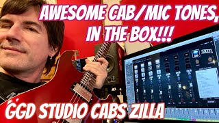AWESOME CAB/MIC TONES, IN THE BOX! GGD STUDIO CABS ZILLA EDITION