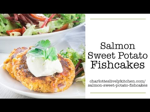 Salmon Sweet Potato Fishcakes