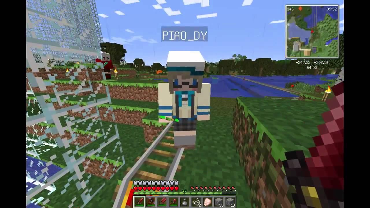 Minecraft(當個創世神)_多人連線遊玩(工業模組+動物模組+妖精模組)_EP.2 - YouTube