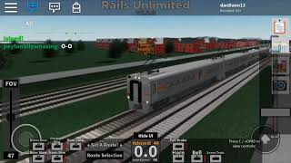 Roblox, Rails Unlimited (Bretton - Frontier) (US Highliner)