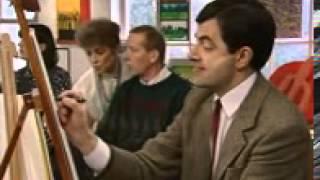 Mr Bean Art Class)(wapking cc)