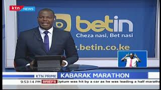 Kabraka half marathon  winners awarded with certificates and cash prizes