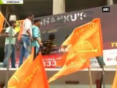 Shiv Sena workers tear banners of Rahat Fateh Ali Khan's concert