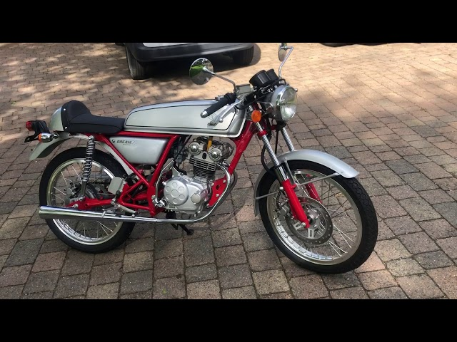 1997 Honda Dream 50 motorcycle for auction