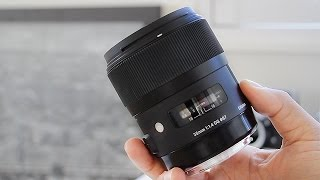 Sigma 35mm 1.4 Art Lens In-Depth Review & Video Test