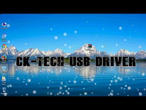How to Install Ck Tech USB Driver for Windows | ADB and FastBoot