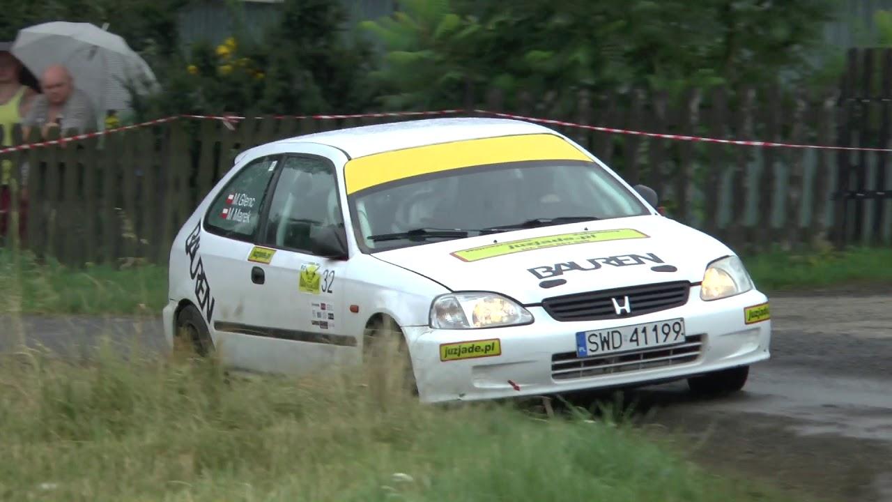 4 Runda RPŚl 2017 – Jastrzębie-Zdrój – Mateusz Glenc / Marek Mariusz – Honda Civic